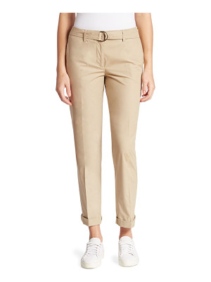 Akris punto cotton cropped pants