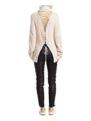 A.L.C. Alexander Lace-Up Sweater