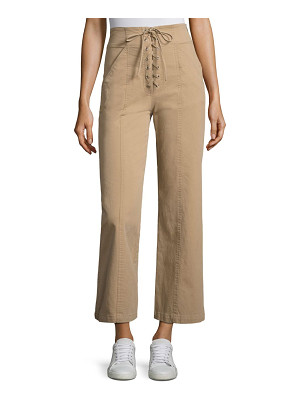 A.L.C. Kyt Lace-Up Wide-Leg Pant