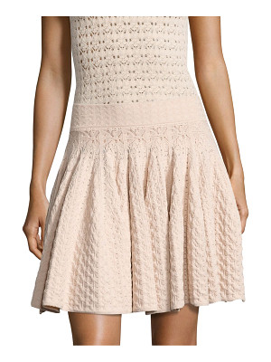 A.L.C. Lana Pointelle-Knit Skirt
