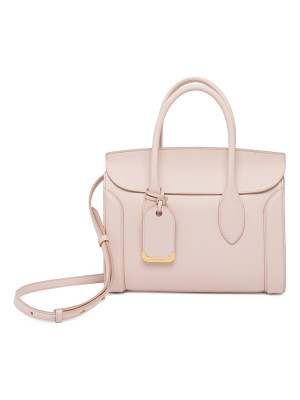 ALEXANDER MCQUEEN Heroine Leather Shopper 30