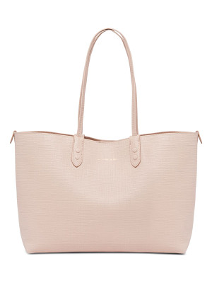Alexander McQueen medium leather shopper tote