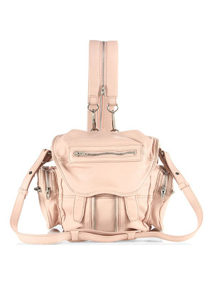 ALEXANDER WANG Mini Marti Convertible Leather Backpack
