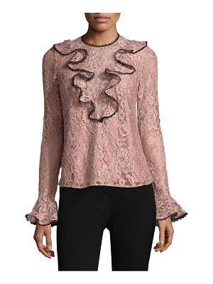 ALEXIS Addie Ruffled Lace Top
