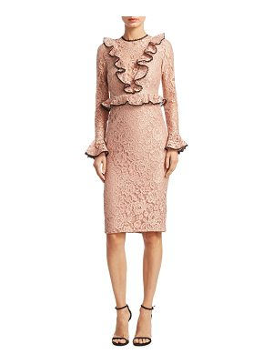 ALEXIS Exclusive Mariette Lace Sheath Dress