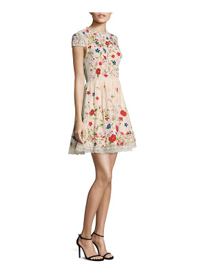Alice + Olivia ariel embroidered dress