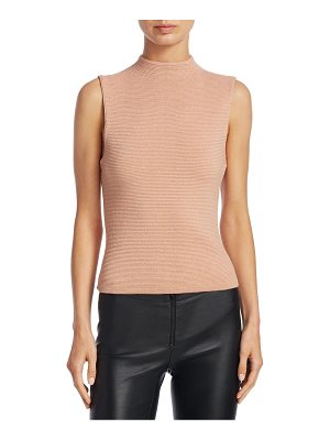 ALICE + OLIVIA Ingrid Mockneck Top