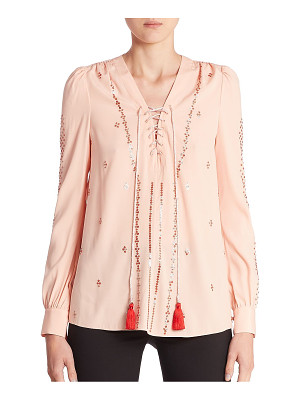 ALTUZARRA Sequin Embellished Blouse