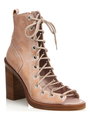 ANN DEMEULEMEESTER Leather Lace-Up Boot Sandals