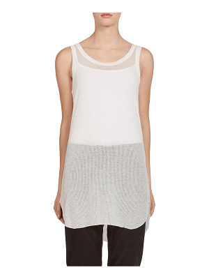 Ann Demeulemeester ribbed jersey tank