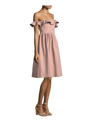 APIECE APART Novella Maria Fit-And-Flare Dress