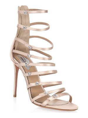 AQUAZZURA Claudia Schiffer For  Crystal Star Sandals