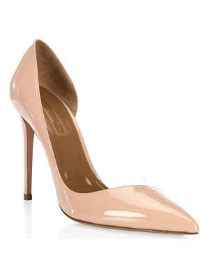 AQUAZZURA Eclipse Closed Toe Pumps