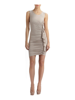 BCBGMAXAZRIA Side Ruched Dress