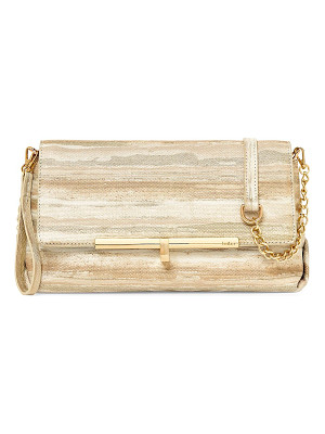 Botkier sadi leather clutch