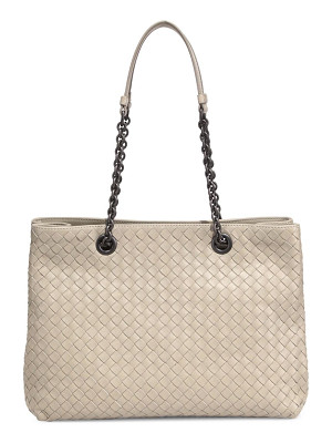 BOTTEGA VENETA Intrecciato Nappa Leather Tote