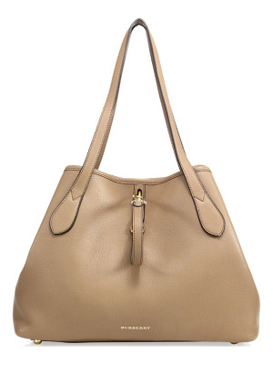 BURBERRY Honeybrook Medium Derby Leather Tote