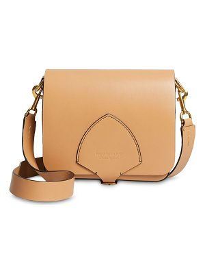 BURBERRY Square Leather Satchel