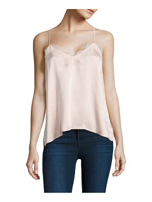 CAMI NYC Racer Silk Charmeuse Camisole