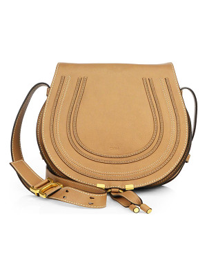Chloe medium marcie leather saddle bag