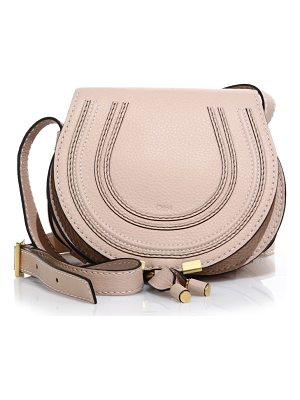 Chloe small marcie leather crossbody