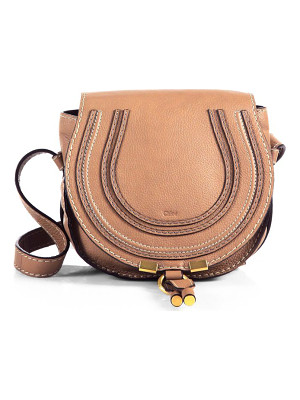 Chloe small marcie leather crossbody bag
