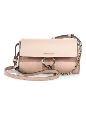 Chloe mini faye leather shoulder bag