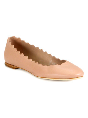 Chloe lauren leather ballet flats