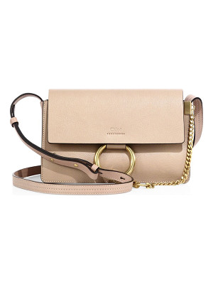CHLOE Small Faye Leather Crossbody Bag