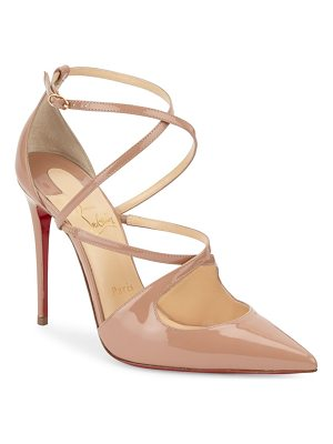 CHRISTIAN LOUBOUTIN Crossfliketa Leather Pumps