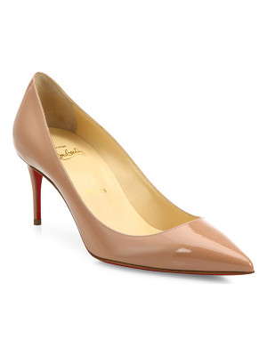 Christian Louboutin decollete 70 patent leather pumps