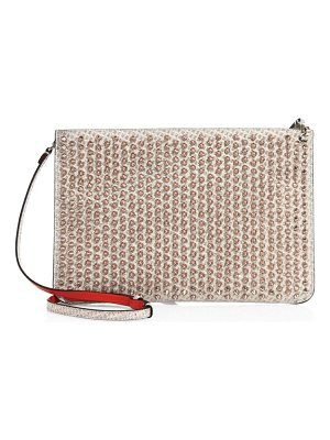 Christian Louboutin embellished clutch