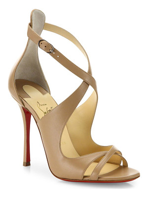 CHRISTIAN LOUBOUTIN Malefissima Leather Sandals