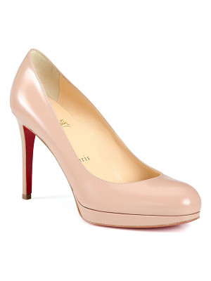 CHRISTIAN LOUBOUTIN New Simple Patent Leather Pumps