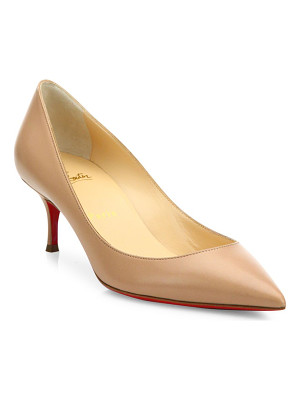CHRISTIAN LOUBOUTIN Pigalle Follies 55 Leather Pumps