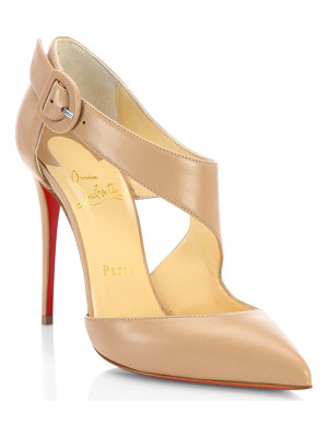 CHRISTIAN LOUBOUTIN Sharpeta 100 Leather Pumps