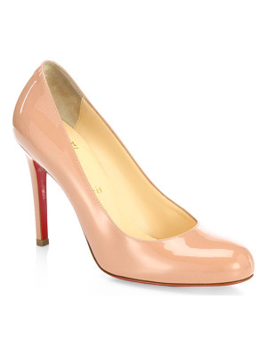 CHRISTIAN LOUBOUTIN Simple 100 Patent Leather Pumps