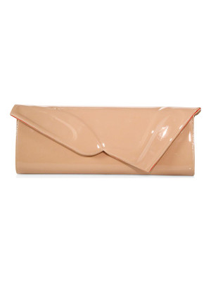 Christian Louboutin so kate patent leather baguette clutch