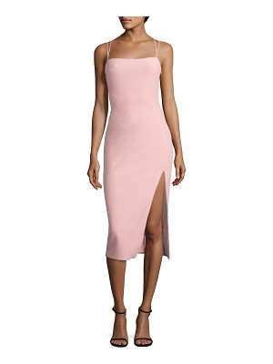 Cinq A Sept cairen slit dress
