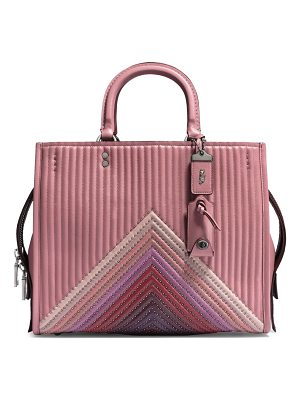 COACH Rogue Colorblock Leather Handbag