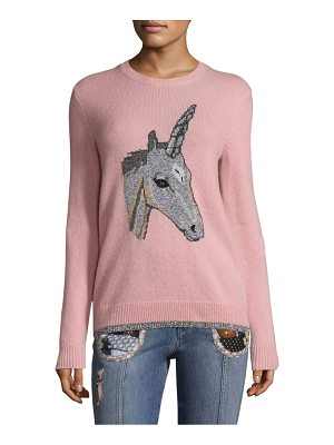 COACH Unicorn Intarsia Sweater