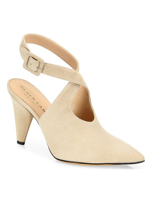 Derek Lam ana suede ankle-strap point toe pumps