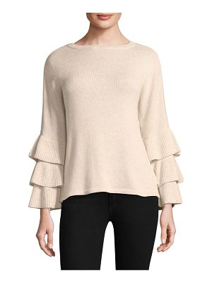 DESIGN HISTORY Exclusive Ruffle Sleeve Sweater