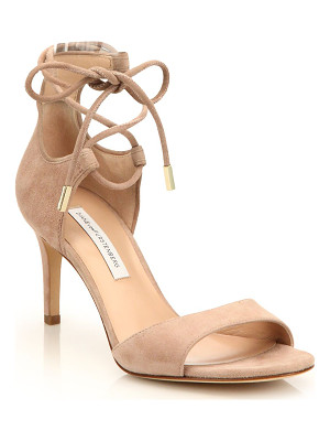 Diane Von Furstenberg rimini suede lace-up sandals