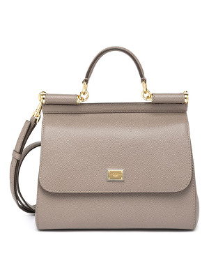 Dolce & Gabbana miss sicily large top-handle satchel