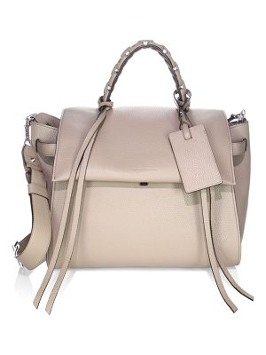 ELENA GHISELLINI Angel Travel Leather Satchel