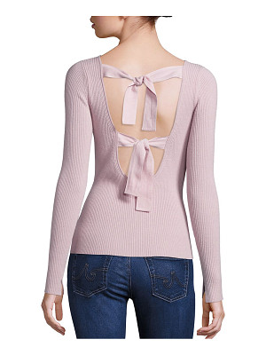 Elizabeth and James fay tie back sweater