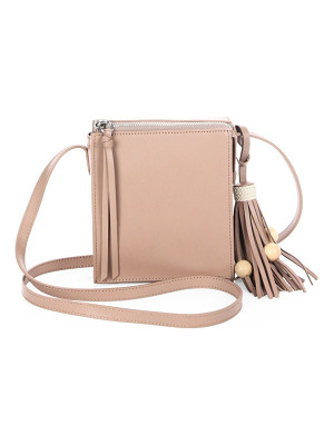 ELIZABETH AND JAMES Sara Tassel Leather Crossbody Bag