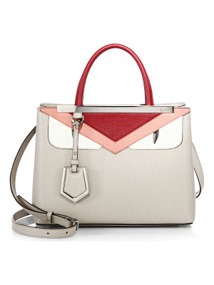 Fendi 2jours small monster face satchel