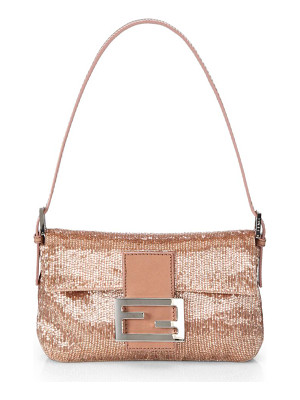 FENDI Mini Beaded Baguette